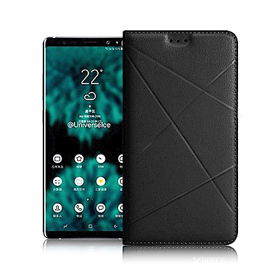 Xmart  For Samsung Galaxy Note 9 渴望完美真皮磁...