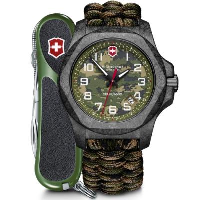 Victorinox 瑞士維氏 I.N.O.X. Carbon Limited Edition 碳纖維迷彩限量腕錶(VISA-241927.1)
