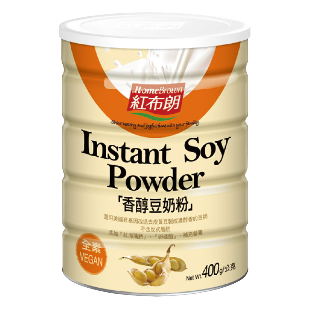 紅布朗 香醇豆奶粉(400g)