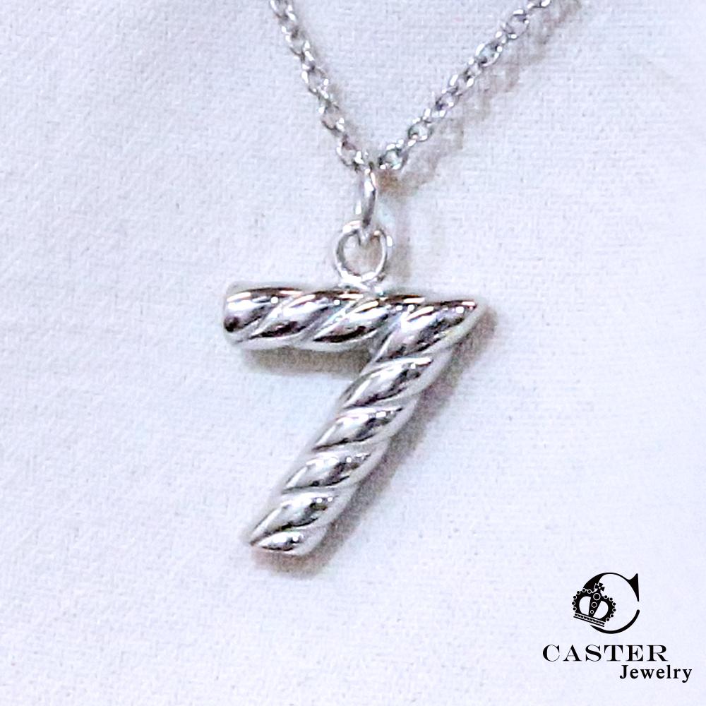 日本 凱斯特 CASTER 幸運之星 時尚銀項鍊 防抗過敏 SUS316L頂級不鏽鋼飾品(時尚銀)