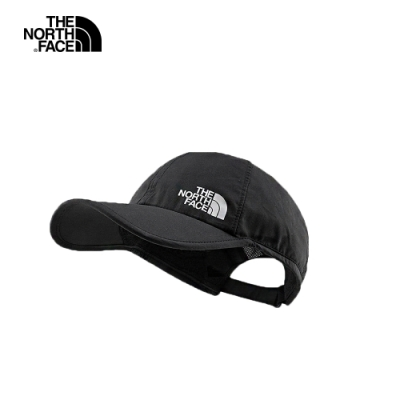 The North Face北面男女款黑色透氣運動帽|CGY1JK3