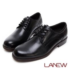 LA NEW Q Lite 經典素面綁帶紳士鞋(男225033530)