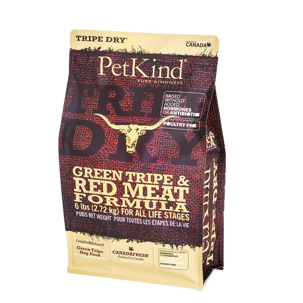 PetKind 野胃 天然鮮草肚狗糧 紅肉口味 6磅