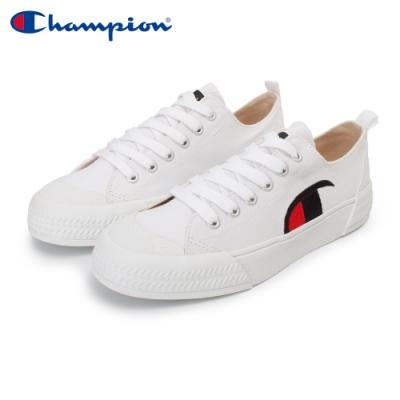【Champion】PURE C 復古休閒鞋 女鞋-白(WFLS-0078-00)