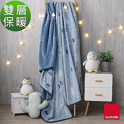 La Mode寢飾 小森林親柔毯(雙人)