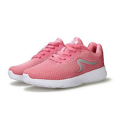 【ZEPRO】女子LIGHTRUN躍跑系列運動輕量跑鞋-櫻花粉