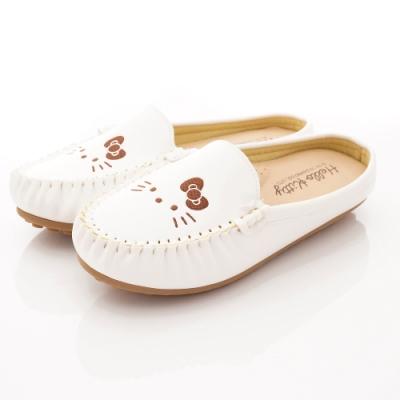 HelloKitty童鞋 Q軟豆豆鞋款 SE19883白(大童親子段)