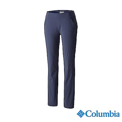 Columbia 哥倫比亞 女款-防曬UPF50防潑長褲-藍紫 UAK07820UU