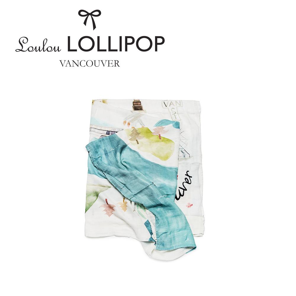 加拿大Loulou lollipop 竹纖維透氣包巾120x120cm-加拿大溫哥華