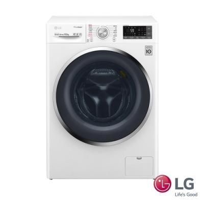 LG樂金 10.5KG WiFi變頻蒸氣滾筒洗衣機 WD-S105CW 整新福利品