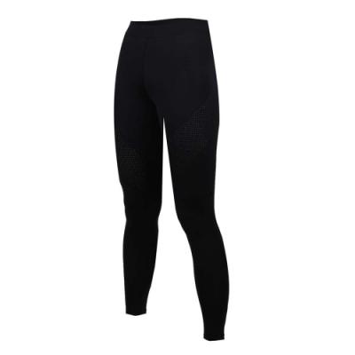 SOFO 女九分韻律長褲-有氧 瑜珈 慢跑 路跑 長褲 緊身褲 黑
