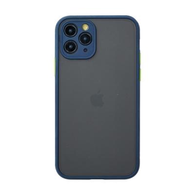 【TOYSELECT】iPhone 12 Pro Max 醇色MELLOW減震防摔手機殼 - 藏青藍