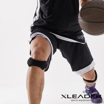 Leader X 運動防護 雙向調節立體減震髕骨帶 黑色 2只入-急
