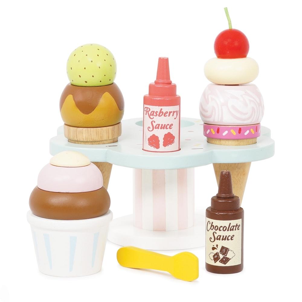 英國 Le Toy Van 角色扮演系列-義大利手工冰淇淋玩具組