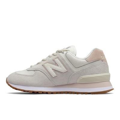New Balance 574系列 女休閒鞋-米白-WL574SAY-B