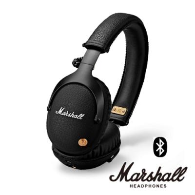 Marshall MONITOR BLUETOOTH BLACK 無線藍牙耳罩式耳機 黑