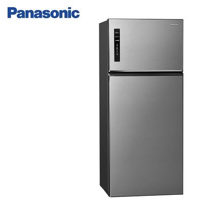 Panasonic 國際牌579公升一級能效雙門變頻冰箱 NR-B581TV-S晶漾銀
