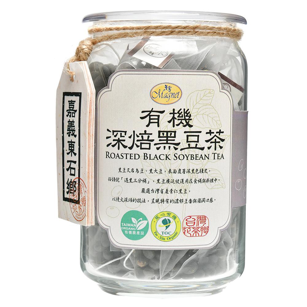 曼寧 台灣花茶-有機深焙黑豆茶(8gx20包)