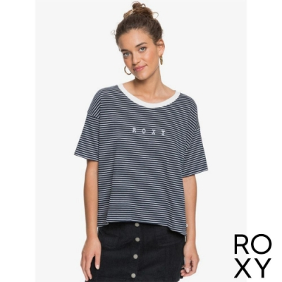 【ROXY】INFINITY IS BEAUTIFUL B 針織T恤 海軍藍