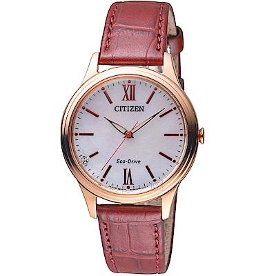 星辰 CITIZEN 繽紛亮彩光動能新年限定腕錶(EM0413-17D)