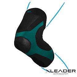 LEADER 進化版X型運動壓縮護膝腿套 湖綠色 1只入 - 急