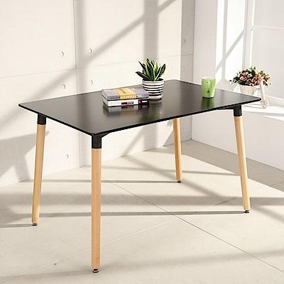 LOGIS邏爵- 自然簡約北歐寬80cm餐桌/ 長桌/ 工作桌/ 書桌/ 休閒桌