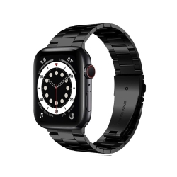 Apple Watch 6/SE 44mm不鏽鋼三珠蝶扣錶帶 贈拆錶器