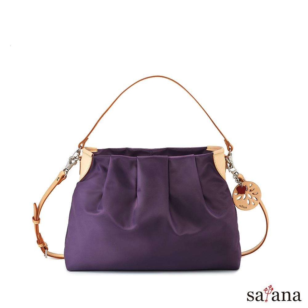 satana - 品味生活中型肩背包 - 紫水晶