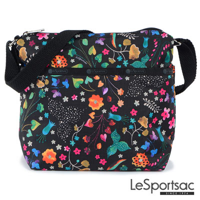 LeSportsac - Standard側背小方包(甜蜜花園)