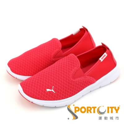 PUMA Flex Essential Slip On 男女慢跑鞋