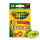 【美國crayola 繪兒樂】彩色蠟筆24色 product thumbnail 1