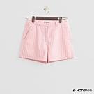 Hang Ten - 女裝 - 經典簡約配色中腰短褲 - 淺粉