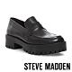 STEVE MADDEN-CREW英式學院風厚底牛津鞋-黑色 product thumbnail 1