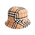 BURBERRY 限量Vintage 彩虹格紋漁夫帽 (棕色)