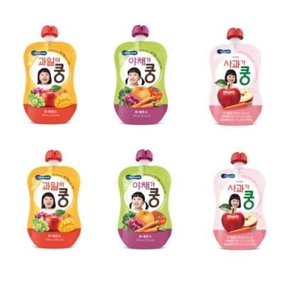 韓國 【BEBECOOK】 嬰幼兒果汁6入組
