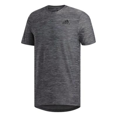 adidas 短袖上衣 運動 訓練 吸濕排汗 男款 灰 FL8478 ALL SET TEE