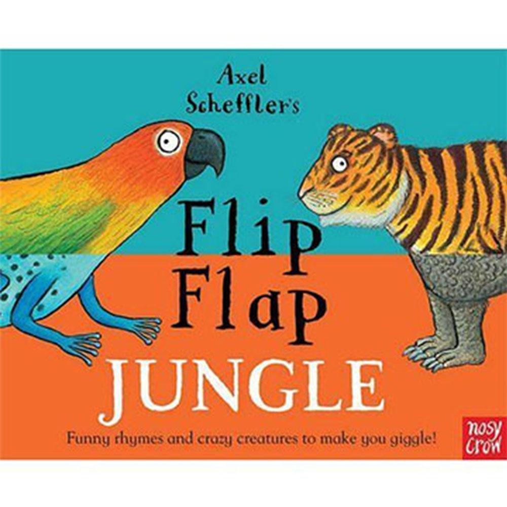Flip Flap Jungle 叢林冒險王精裝翻頁書(英國版)