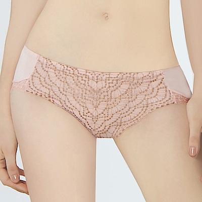瑪登瑪朵 無限包覆 低腰寬邊三角內褲(薔薇粉)