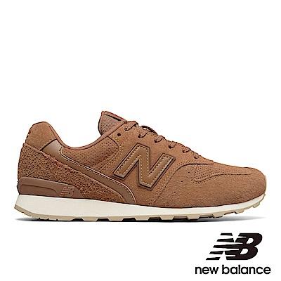 NEWBALANCE復古運動鞋-女WR996BB咖啡色