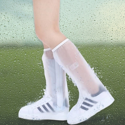 DIDA 鞋底加厚防滑高筒38公分輕便防水雨鞋套