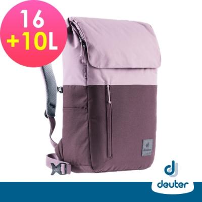 【deuter德國】UP SERIES SEOUL首爾都市環保背包16+10L/3860221紫/商務旅遊包/文青包