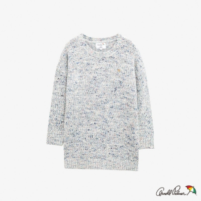 Arnold Palmer -女裝-彩色短染紗線衫-白