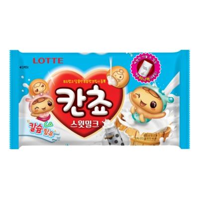 Lotte樂天 牛奶夾心餅乾球(170g)