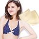 胸墊 泳衣隱形布面三角形襯墊(黃色F) AngelHoney天使霓裳 product thumbnail 1