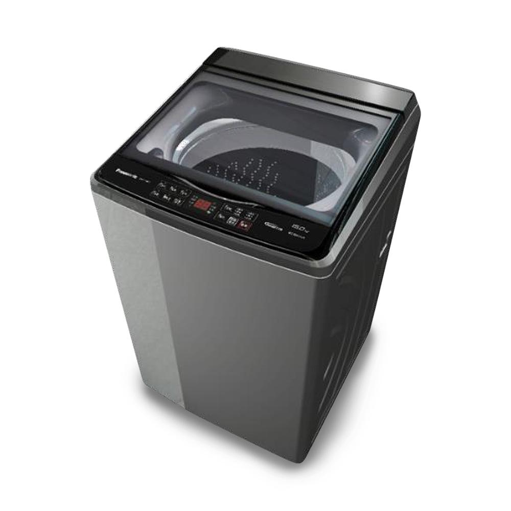 [館長推薦]Panasonic國際牌 15KG 變頻直立式洗衣機 NA-V150GT-L 炫銀灰
