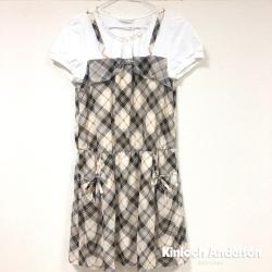 【Kinloch Anderson金安德森女裝】雪紡剪接假兩件洋裝