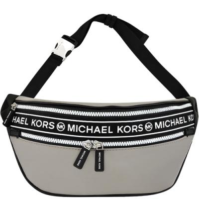 MICHAEL KORS Kenly 輕量尼龍腰包/單肩背兩用包(大象灰色)