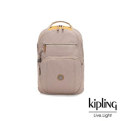 Kipling 邊緣地帶秋日活潑撞色前後雙層收納後背包-TROY-EDGELAND系列