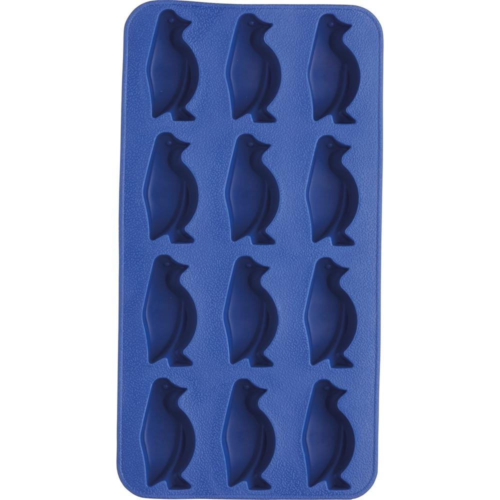 《KitchenCraft》12格企鵝製冰盒(藍)