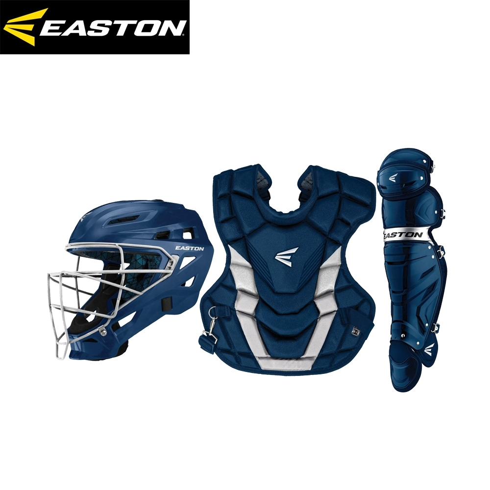 EASTON GAMETIME BOX SET  成人捕手護具組 深藍 A165-427